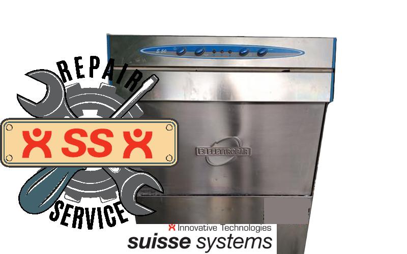 Reparatur Elettrobar Spülmaschinene